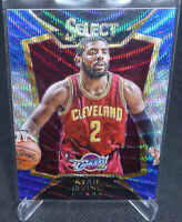 2014-15 Panini Select Kyrie Irving Blue/Silver Shimmer Prizm Card #65 NETS