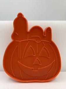 Snoopy & The Great Pumpkin Cookie Cutter Large Halloween Peanuts UFS EUC
