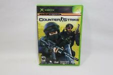 Counter Strike XBOX 2003 Complete W/ Case & Manual Free Shipping