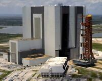 Apollo 11 Saturn V 5 Rolls Out of Vehicle Assembly Building 8x10 Photo