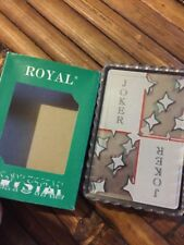 Royal Crystal Playing Cards Gently Used