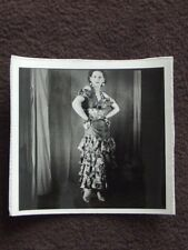 SEXY WOMAN IN MEXICAN DANCER OUTFIT VTG 1941 PHOTO