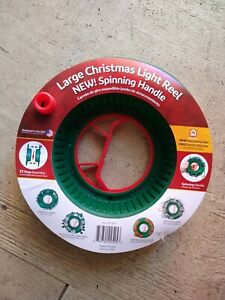 715001 Christmas Light Storage Reel, Green, Large - Quantity 1