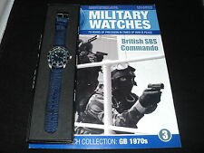 Eaglemoss Military Watches - Issue 3 - British SBS Commando Watch 1970s
