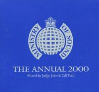 Annual 2000 Mixed By Judge Jules/Tall Paul, Various Artists, Audio CD, Acceptabl