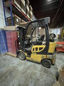 Yale GLC050VXNURE083 Forklift, 2011 - 4500lb Propane