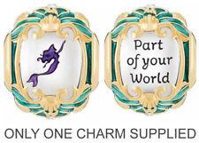 Genuine Chamilia Silver Disney Little Mermaid Princess Ariel Charm Bracelet Bead