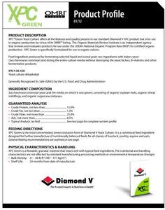 BEST BUY! 4lb FRESH Diamond V XPC Green ORGANIC Nutritional Yeast NON-GMO Health