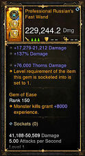 Diablo 3 RoS PS4 [SOFTCORE] - Modded Wizard Wand [Ancient]
