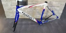 Wilier Pro Race Lampre Scandium carbon road bicycle frameset frame 50 S VGC