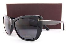 Brand New Tom Ford Sunglasses FT 434 Lindsay  01D Black/Gray Polarized Women