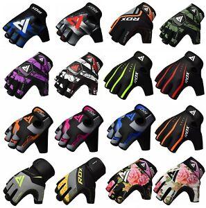RDX Fitness Handschuhe Gewichtheben Krafttraining Sport Trainings Gym D