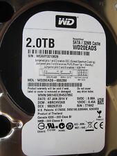 Western Digital 2 TB WD20EADS-00S2B0  | DCM: HBRCHV2AB | 07JAN2014 | PCB OK