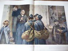 ILLUSTRATION 1918 3915 FLAMENG DEGAS LONGWY FINLANDE BORDEAUX GUATEMALA
