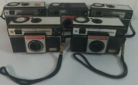 Lot of 5 Vintage Magimatic X50 Magicube Camera Instant Load 126 Imperial Camera