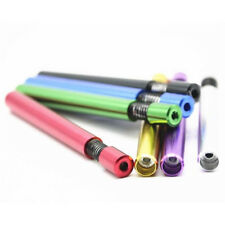 Self Cleaning Pipe One Hitter Metal Bat Tobacco  Smoking Cigarette Dugout Pipe