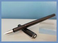 Montblanc *S Line n.19120* gun metal fountain pen penna stilografica ACCIAIO