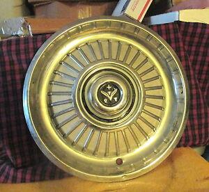 """1959 59 Desoto De Soto Hubcap Rim Wheel Cover Hub Cap 14"""" VERY GOOD USED CONDIT."""