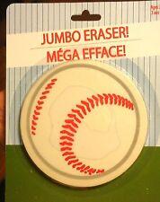 Big Children Kid Sport Baseball Ball Game Stationery School Toy Jumbo Eraser Nib