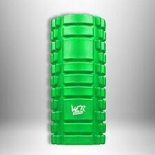 Grid Foam Roller Trigger Point Gym Pilates Massage Physio Injury Yoga Green 33cm