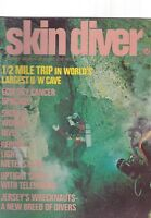 MARCH 1972 SKIN DIVER scuba diving magazine
