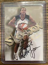 TERESA WEATHERSPOON 1999 SkyBox Hoops Autographics Auto Card - Hard Signed Rare