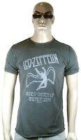 AMPLIFIED Off.LED ZEPPELIN USA 1977 Tour Rock Star Vintage Löcher T-Shirt g.S 48