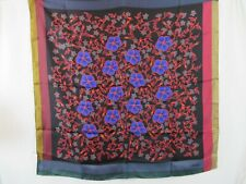 Kenzo Paris Silk Scarf Floral Square Made in Italy