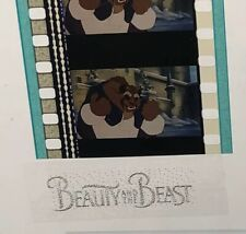 Disney Animation Authentic Film 5-Cell Strip BEAUTY & THE BEAST Beast Outside