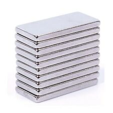 Set Of 5 Pieces of 25mm x 12mm x 2mm Strong Rare Earth Neodymium Magnets N52