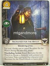 A Game of Thrones 2.0 LCG - 1x #045 Recruiter for the Watch - The Fall of Astapo