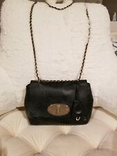 Pre-owned Mulberry Small Lily Black