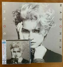 Madonna by Madonna 2001 Remastered CD & Rare Promo Poster