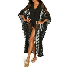 2020 Cover- Up Bathing Suit and summer dress Mesh Sheer Black in Color