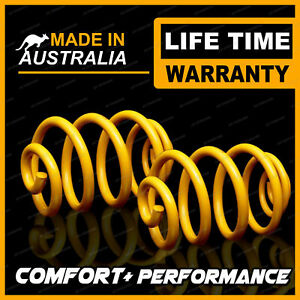 2 Rear King Ultra Low Coil Springs for FORD FALCON BA BF XR6 XR8 FG FGX