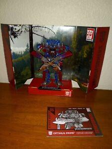 Hasbro Studio Series 05 Transformers Optimus Prime Excellent Condition COMPLETE