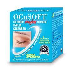 Ocusoft Plus Lid Scrub Blepharitis Wipes (x20)