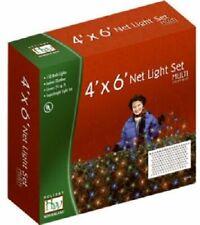 Noma 48951-88 Holiday Wonderland 150 ct 4' x 6' MULTI Net Christmas Light Set