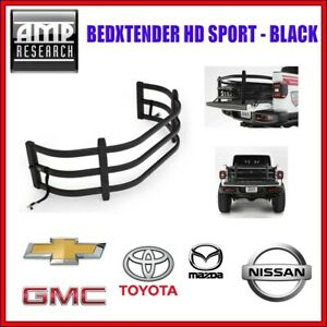AMP BedXTender HD Sport Black For Toyota Mazda Nissan Mitsubishi GM Chevrolet
