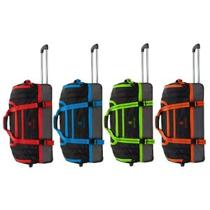 Wheeled Luggage Hand Trolley Small Travel Bag Duffle Cabin Suitcase Holdall
