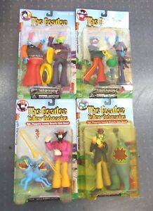 The Beatles Yellow Submarine Toy Figures Lot of 4 Different Sets in The Box