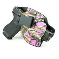 IWB Hybrid Kydex Holster Atac Vista Pink for Walther Handguns