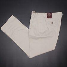 Brooks Brothers Avantage Garçons Pantalon Chino 16H 32/31 Beige Coton Kaki Pli