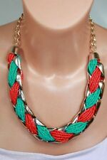 Turquoise Mixed Metals Costume Necklaces & Pendants