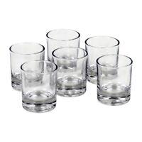 FindSomethingDifferent Set of 6 Glass Holders for Votive Candles