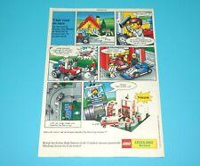 LEGO MAGAZINE ADVERT LEGOLAND MINILAND 1980s DONALD DUCK HOLLAND