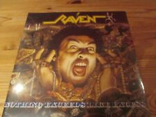 RAVEN NOTHING EXCEEDS LIKE EXCESS 2 LP 2011 exciter slayer sacrilege helloween