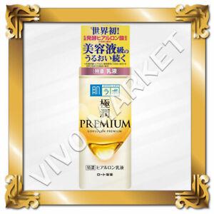 Japan Rohto Hadalabo Gokujyun PREMIUM Hyaluronic Acid Moisturizing Milk 140ml FS