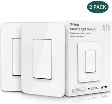 3 way Smart wifi Light Switch works with Alexa Google Home Assistant IFTTT 2pack