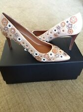 NEW COACH Leather Tea Rose Pumps in Beechwood, Size 8